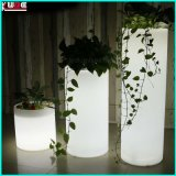 Iluminado Glow Furniture Cylinder Chair Ottaman Flower Pots