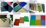 青銅、青、緑、灰色の染められたカラーおよび反射フロートガラス