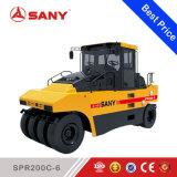Sany Spr200-6 20ton cilindro pneumático Rolo de estrada de pneus de borracha para venda