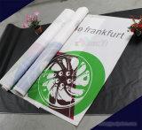 Vento stampato di colore completo attraverso la bandiera della maglia del PVC per la pubblicità esterna