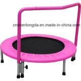 Nouveaux 36 pouces enfants exercent le mini trampoline avec rail à main