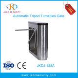 ステンレス鋼の自動半分の高さのRFIDのカードのアクセス制御システムが付いている光学三脚の回転木戸