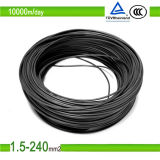 Certificado TUV, UL Listed 8/10/12 AWG DC cable solar