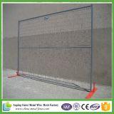 Polvo de Canadá de los productos de las muestras libres que cubre los paneles temporales de la cerca del cercado/de la construcción