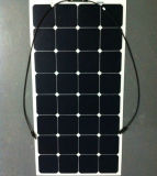 Mono venta al por mayor semi flexible diseñada modificada para requisitos particulares del panel solar de 100W 18V