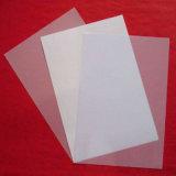 Het dunne Plastic Gelamineerde Transparante Blad van pvc
