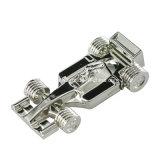 F1 het Metaal USB Pendrive van de Schijf van de Flits van de Vorm USB van de Auto van Autorennen