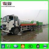 Caminhão de tanque da água pesada do caminhão 15000L do depósito de gasolina de Sinotruk 15m3 para a venda
