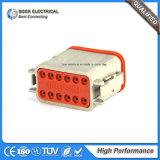 Connecteur automatique de décollement d'Allemand de fiche de plot de Pin de fil de câble