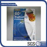 Embalaje disponible del PVC del claro (cualquie dimensión de una variable)
