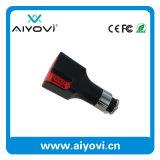 I ricambi auto si raddoppiano USB per il caricatore dell'automobile del telefono mobile con il purificatore dell'aria