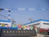 Carga de 6t grúa torre con el 1.3T de carga de la punta de China