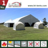 Подгонянный алюминиевой шатер изогнутый структурой для случая согласия
