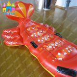 Water PVC Ride Inflatable Lobster Float, sol flottant, matelas pneumatique