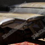 Sofá de cuero moderno del Recliner de los muebles de la sala de estar el último