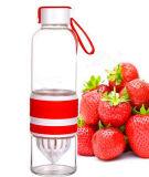 de Draagbare Verpakkende Fles van de Kop van het Glas van de Gift van Juicer van de Fles van het Water 700ml Juicing