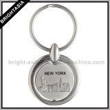 Spinning Metal Key Ring for Promotion Gift (BYH-10248)