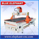 1300 * 2500 машина Engraver маршрутизатора CNC оси mm 4 в хорошем цене с роторным приспособлением на таблице деятельности вакуума