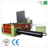 Sucata de aço de cobre que processa a máquina da prensa