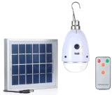 Uma lâmpada de lâmpada de LED de iluminação de 5 lâmpadas de iluminação com controle remoto