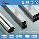 Type carré court tubes d'acier inoxydable