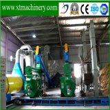 Proteção ambiental, recolocação de carvão, linha de madeira da pelota da biomassa