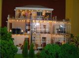 Model van de Schaal van Maquette van villa's het Miniatuur Architecturale