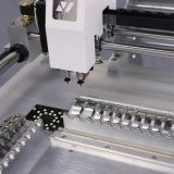 Выбор SMT визуально и машина Neoden3V места с 44 фидерами!