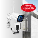720p 960p 1080P Wireless Bullet IR водонепроницаемая видеокамера CCTV