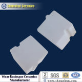 Blocchetto Pre-Costruito di ceramica dell'allumina su ordine come rivestimento resistente all'uso