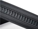 Correias de couro pretas para os homens (HPX-160706)