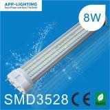 8W 4 ピン SMD3528 2g11 LED PL チューブライト