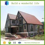 Planta de aço Prefab luxuosa popular quente da casa de campo da paisagem