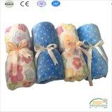 زهرة طباعة فائقة ليّنة طفلة غطاء الصين مصنع