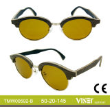 La mode des lunettes de soleil en bois avec une haute qualité (592-A)