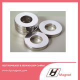 De super Sterke Aangepaste Magneet van /NdFeB van het Neodymium van de Ring van Zink n35-50 Permanente in China