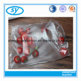 HDPE flache Plastiknahrungsmittelbeutel auf Rolle