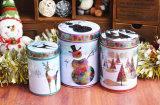 Tour de l'étain Boîte de rangement pour les cadeaux de Noël (FV-042920)