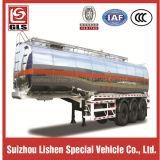 39cbm Oca-Neck Stainless Steel Oil Tank Semi Trailer