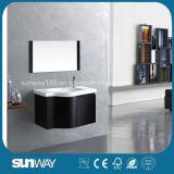 Mobília moderna nova do banheiro do MDF com dissipador (SW-1320)