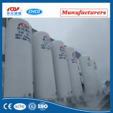 Tanque de armazenamento criogênico do aço inoxidável do CO2 do argônio do nitrogênio do oxigênio líquido