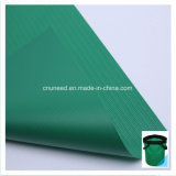 Tessuto rivestito per il sacchetto di sport, tessuto della lama del PVC del poliestere della tela incatramata del PVC