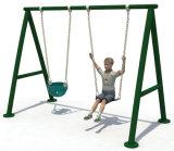Strumentazioni Body-Building del campo da giuoco dei bambini esterni dell'oscillazione