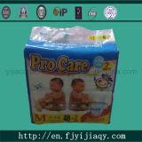 PE Film Baby Diaper dos PP Tape com Fatory Price
