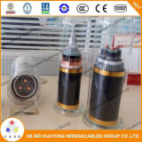Câble à un noyau de l'écran protecteur isolé par taux de pression moteur 500mcm Urd de l'UL 1072 35kv Cts