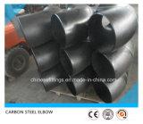 90 codo de la instalación de tuberías del codo ASME del acero de carbón del grado LR