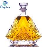 Promoción 1.5 L botella de cristal del whisky en vidrio de pedernal