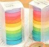 De Kleur van het Suikergoed van de Gift van de Kantoorbehoeften van de Band van de fout en de Band van de Regenboog van het Document