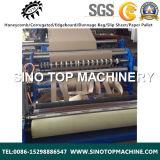 Nuevo estilo de papel automática máquina rebobinadora cortadora longitudinal
