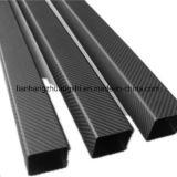 Tubo ligero modificado para requisitos particulares del cuadrado de la fibra del carbón de la talla